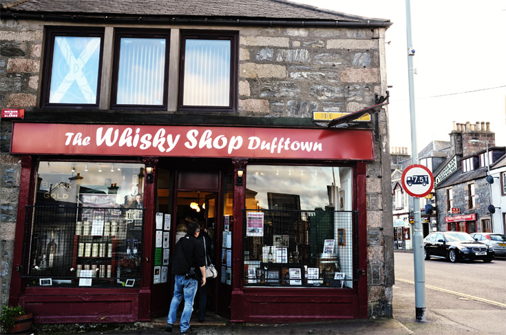 The Whisky Shop - Dufftown