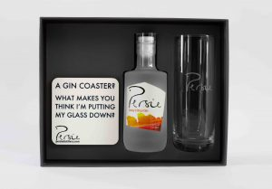 Persie Gin, Coaster & Glass Gift Set