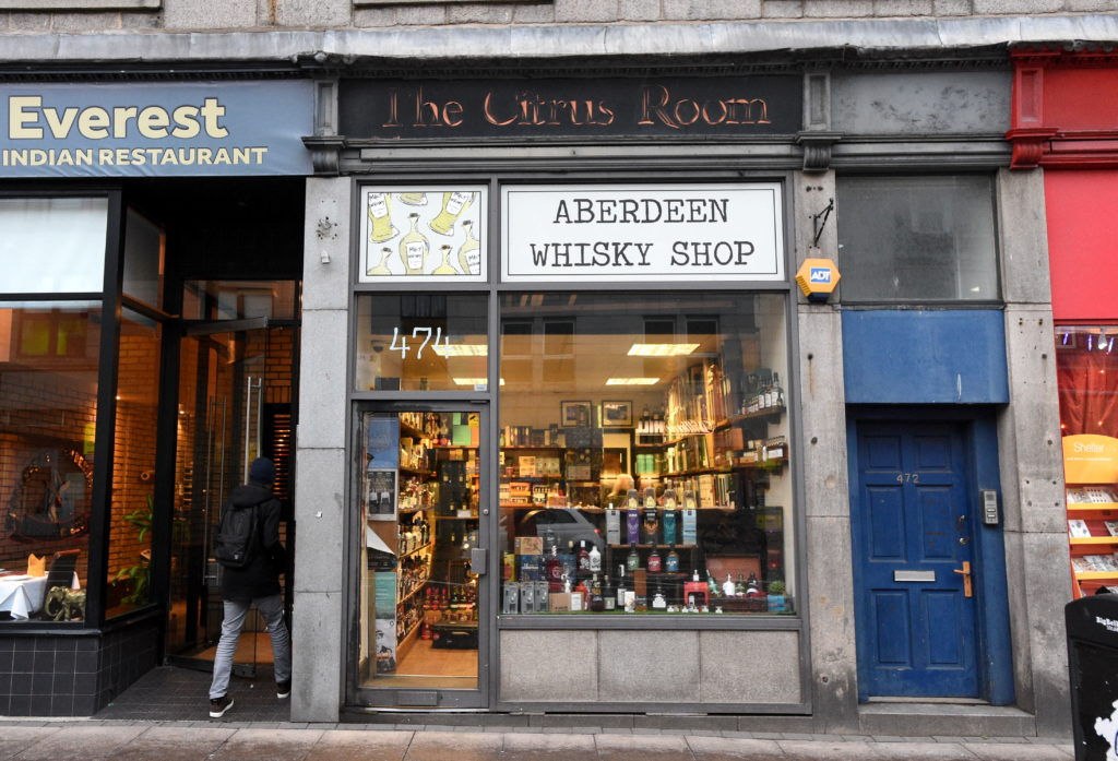 Aberdeen Whisky Shop