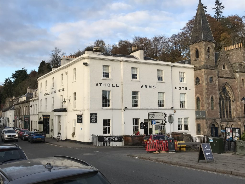 Atholl Arms Hotel in Dunkeld
